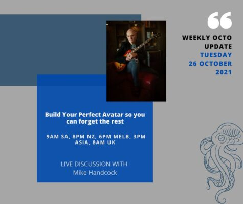 Build Your Perfect Avatar so you can forget the rest – Weekly Webinar 26 October